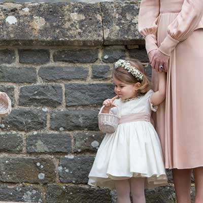All the details on Princess Charlotte's £500 wedding look