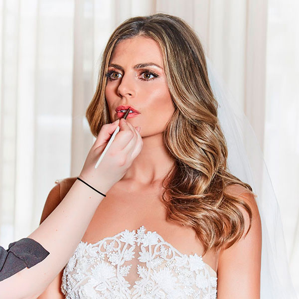 Get Zoe Hardman's bridal beauty look with our step by step guide