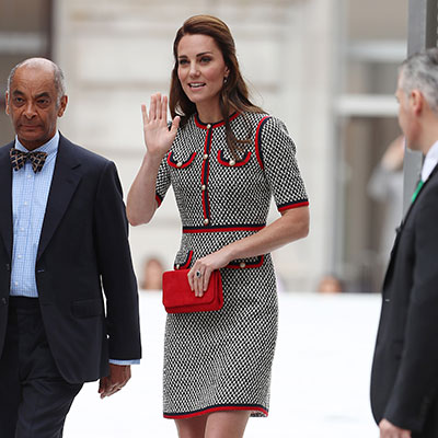 Duchess Kate turns heads in £2,300 Gucci dress as she visit the V&A