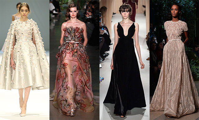 Paris Haute Couture Fashion Week: the most dazzling gowns