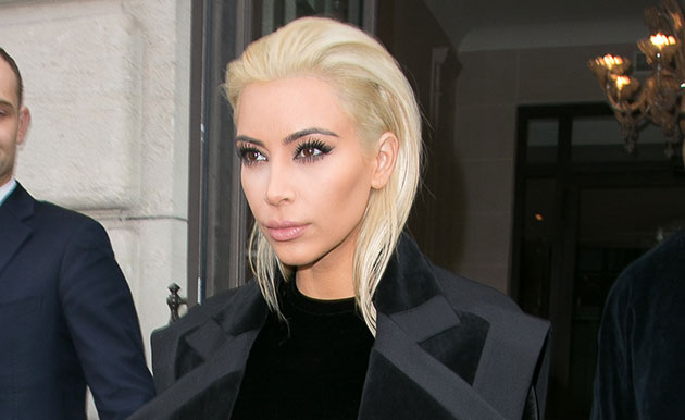Kim Kardashian is unrecognisable with dramatic new look at Balmain