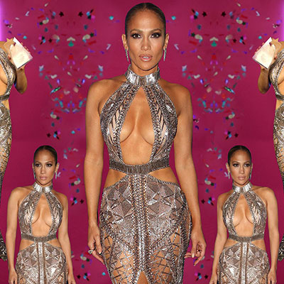 Jennifer Lopez stuns in show-stopping ensembles by Julien Macdonald