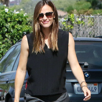 Jennifer Garner keeps it classy as she attends church in LA