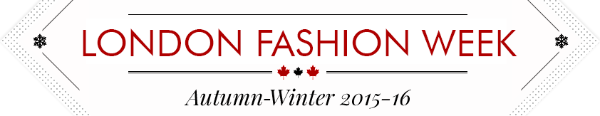 Fashion Week Autumn-Winter 2015-16